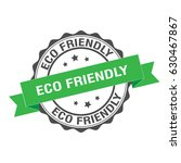 eco friendly stamp illustration | Shutterstock .eps vector #630467867