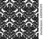 damask seamless pattern... | Shutterstock .eps vector #630496193