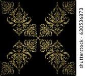 vector design with golden...   Shutterstock .eps vector #630536873