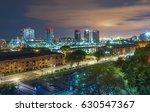 night view of puerto madero ... | Shutterstock . vector #630547367