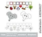 educational puzzle game for... | Shutterstock .eps vector #630560027