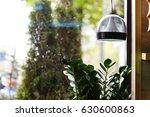 vintage metal cap lamp hanging... | Shutterstock . vector #630600863