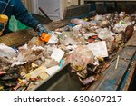 waste processing plant.... | Shutterstock . vector #630607217