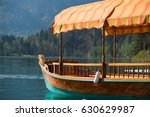 Beautiful Wooden Boat With Roo...