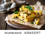 homemade vegetarian rice... | Shutterstock . vector #630653297