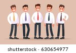 group of business people. a... | Shutterstock .eps vector #630654977