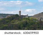 view of the castle ruin... | Shutterstock . vector #630659903