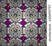 seamless pattern white elements....   Shutterstock .eps vector #630699797