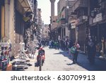 cairo  egypt  april 15  2017 ... | Shutterstock . vector #630709913