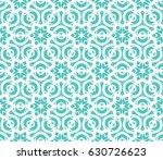 geometric seamless pattern.... | Shutterstock .eps vector #630726623