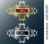 gold background flyer style... | Shutterstock .eps vector #630730187