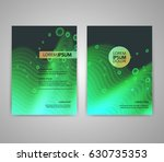 brochure flyer layouts with...   Shutterstock .eps vector #630735353