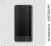 phone   on transparent... | Shutterstock .eps vector #630736193