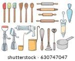 kitchen  tools illustration ... | Shutterstock .eps vector #630747047