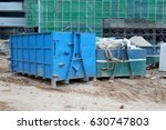 construction wasted disposal... | Shutterstock . vector #630747803