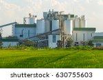 ethanol industrial refinery...   Shutterstock . vector #630755603