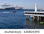 fremantle harbor  fremantle ... | Shutterstock . vector #630824393