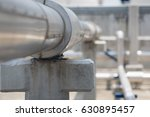 chemical pipe line in process... | Shutterstock . vector #630895457