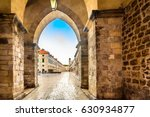 picturesque stone architecture... | Shutterstock . vector #630934877