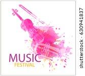 jazz music festival  splash... | Shutterstock .eps vector #630941837