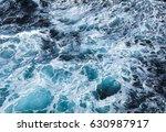 ocean waves at stormy weather | Shutterstock . vector #630987917