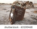 An Old Oven Rots  At The Salto...