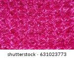 Hot Pink 3 D Rosette Backgroun...