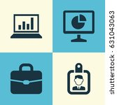 job icons set. collection of... | Shutterstock .eps vector #631043063