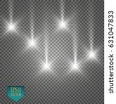 lights on transparent... | Shutterstock .eps vector #631047833