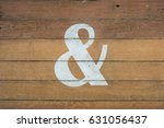 Ampersand   Sign Painted On...