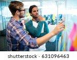 creative business team reading... | Shutterstock . vector #631096463