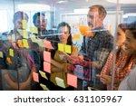 creative business team looking... | Shutterstock . vector #631105967