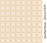 seamless geometric line pattern.... | Shutterstock .eps vector #631117337