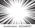 background of radial lines for... | Shutterstock .eps vector #631168457