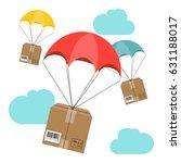 flat design. vector... | Shutterstock .eps vector #631188017