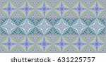 ethnic boho tribal seamless... | Shutterstock . vector #631225757