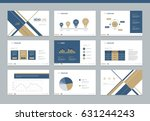 page layout and cover design... | Shutterstock .eps vector #631244243