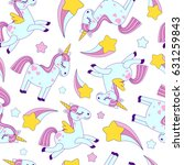 vector seamless pattern with... | Shutterstock .eps vector #631259843
