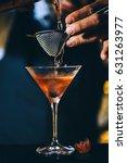 expert barman is making... | Shutterstock . vector #631263977
