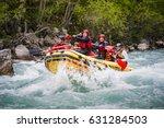 montenegro  river tara   april... | Shutterstock . vector #631284503