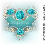 blue patterned banner with...   Shutterstock .eps vector #631291253