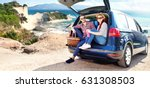summer car trip  | Shutterstock . vector #631308503
