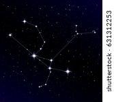 andromeda constellation | Shutterstock .eps vector #631312253