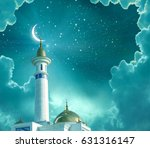 ramadan kareem background... | Shutterstock . vector #631316147
