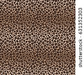 leopard seamless pattern with... | Shutterstock .eps vector #631352303