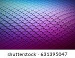 abstract vector technological... | Shutterstock .eps vector #631395047