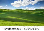 panoramic view of rolling hills ... | Shutterstock . vector #631401173