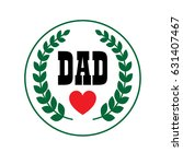 Dad Fathers Day Crest