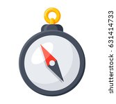 compass icon  vector... | Shutterstock .eps vector #631414733