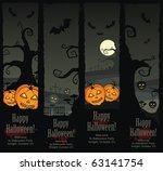 halloween banners  vector eps8 | Shutterstock .eps vector #63141754
